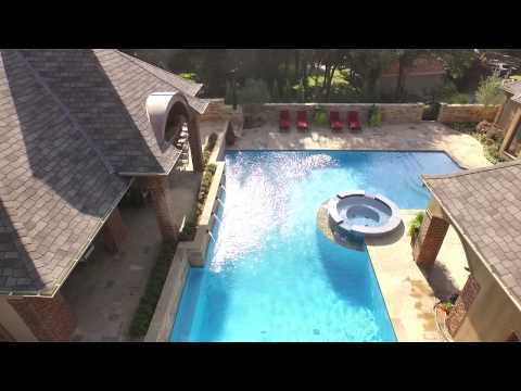Caviness Landscape Design - French Inspired Classic Pool And Garden In Oklahoma City