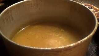 Подкисленный суп с вермишелью.