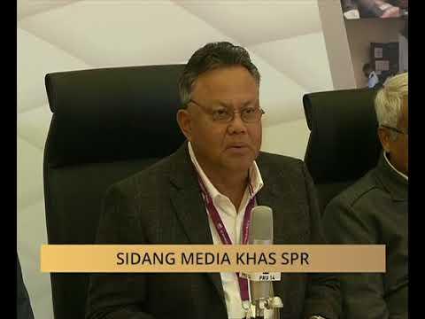 Sidang media khas SPR: Pengumuman keputusan rasmi DUN Sabah