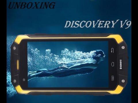 Распаковка Discovery V9 с AliExpress. (IP68, защищённый танкофон)