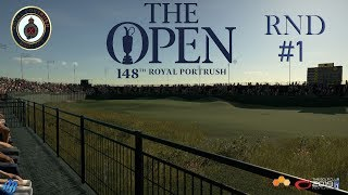 The Golf Club 2019 - THE 148th OPEN at ROYAL PORTRUSH GOLF CLUB (Round #1)