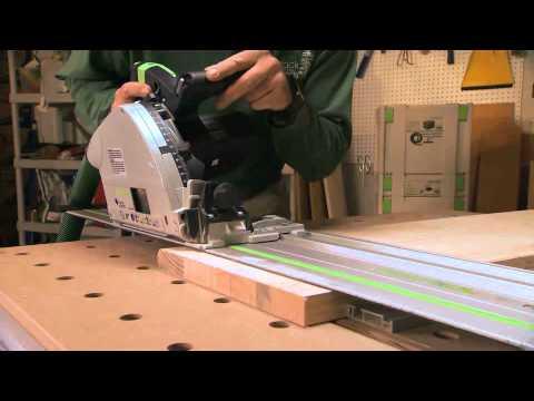 Festool TS 55 and TS 75 Plunge Cut Saw - YouTube