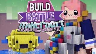 Pufferfish!   Build Battle   Minecraft Building Minigame