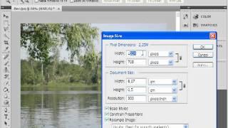 Уменьшение размера фотографии в Photoshop(В данном видеоуроке мы расскажем как уменьшить размер фотографии при помощи Photoshop. http://youtube.com/teachvideo - наш..., 2011-12-06T21:32:04.000Z)