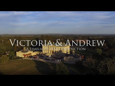 Victoria & Andrew's wedding | Kirtlington Park