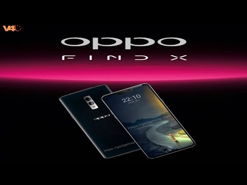 Oppo Find X First Look, Specifications, Features, Release Date, Camera, Launch, Official Look