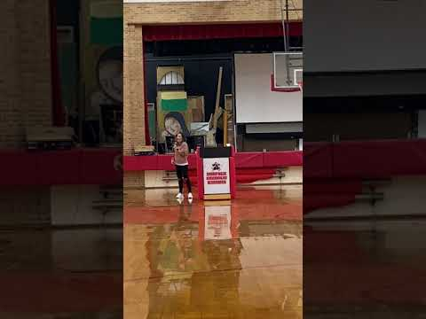 Testimony at Norfolk Catholic High School