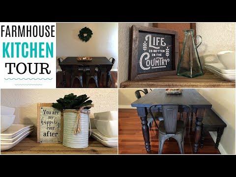 Modern Farmhouse Kitchen Makeover! | Kitchen Tour