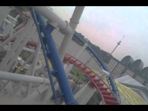 Battlestar Galactica Red Roller Coaster