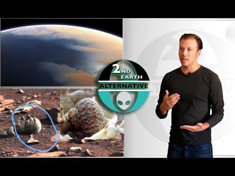 Seashells on MARS?  • NEW EVIDENCE • US Congressman asks NASA about past Mars civilization!