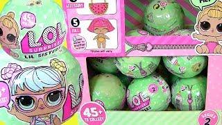 Видео для Детей LOL Baby Dolls Series 2 Lil Sisters Пупсики #Куклы #Игрушки Меняющие Цвет