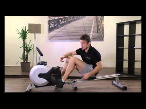 asviva ruderger t ergometer rower cardio xi fitnessger t rudermaschine youtube. Black Bedroom Furniture Sets. Home Design Ideas
