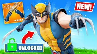 Unlocking *WOLVERINE* in FORTNITE!