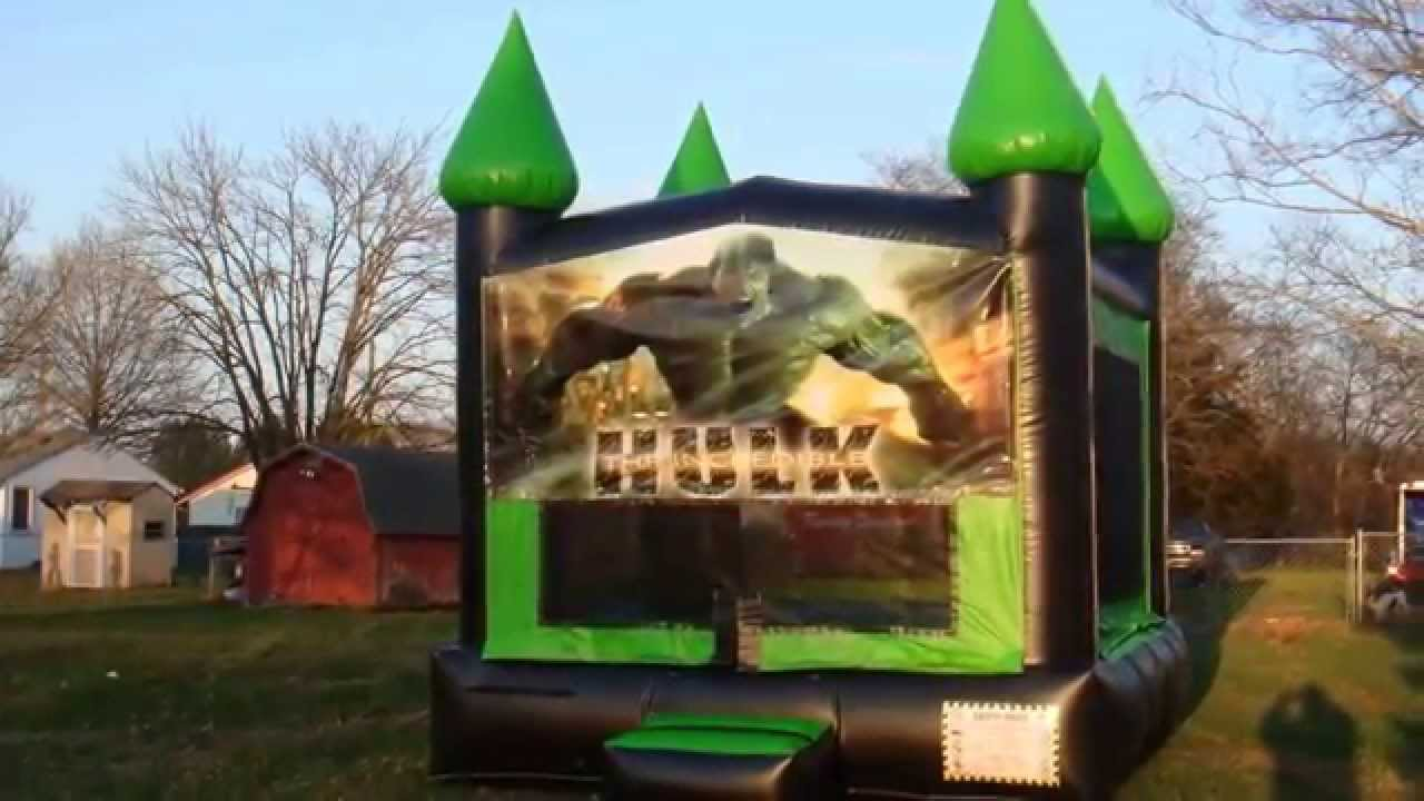 Hulk Bounce House In Nashville Tn Youtube