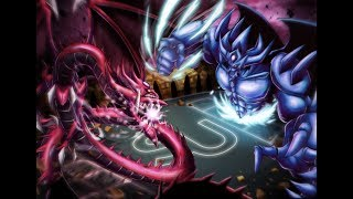YuGiOh WAR of the GODS | Slifer vs Obelisk