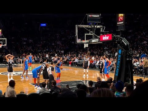 BROOKLYN LOVES THE OKC THUNDER #thunder #nets #NBA