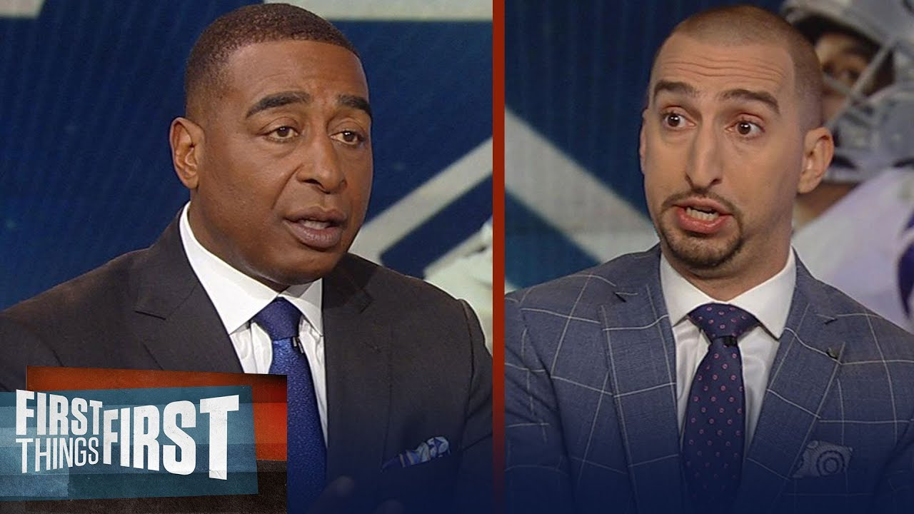 Nick and Cris look ahead to Redskins at Cowboys Thanksgiving matchup | NFL | FIRST THINGS FIRST