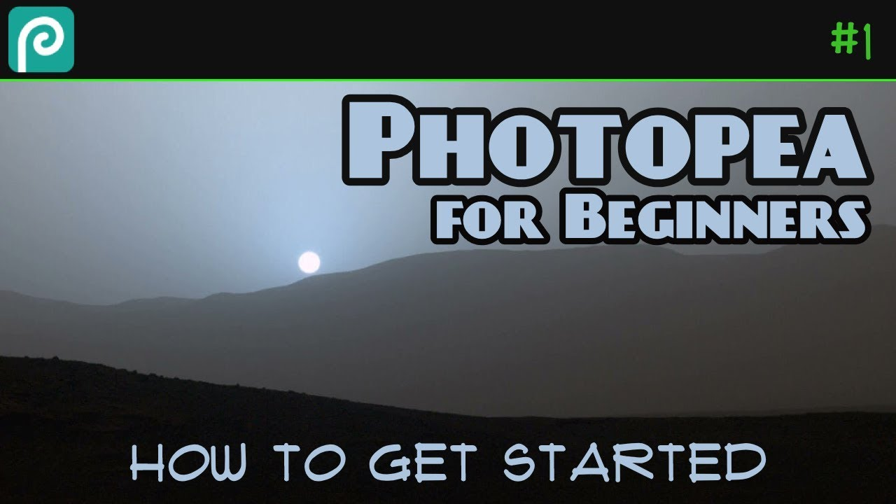 Photopea for Beginners - How to Get Started Editing Photos in Photopea  Tutorial