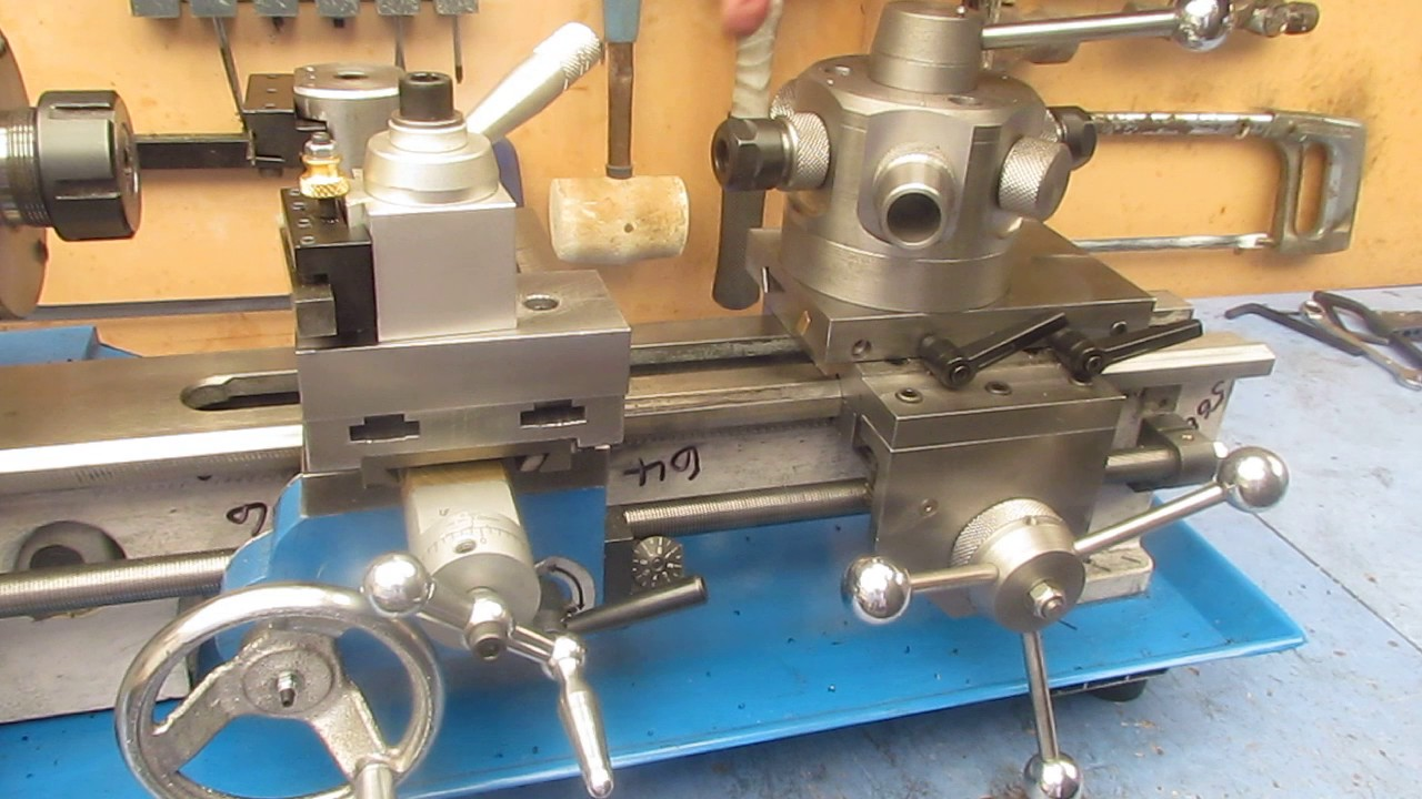capstan turret attachment for mini lathe youtube 16 Inch Lathe capstan turret attachment for mini lathe
