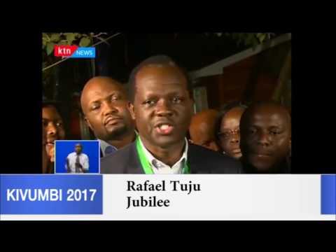 Raphael Tuju tells NASA off over rejection of live presidential results