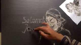 Baixar Tribute To Pak Raden - Timelapse Ash Speed painting
