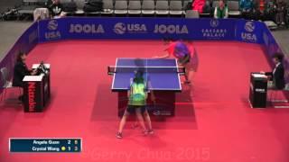 Angela Guan vs Crystal Wang  QF Day 2