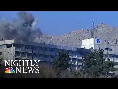 Americans Killed In Kabul Intercontinental Hotel Siege, U.S. Official Says | NBC Nightly News