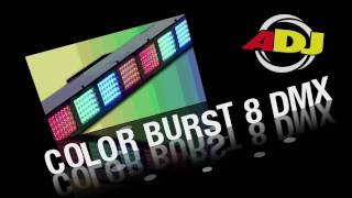 Video American DJ Color Burst 8 DMX download MP3, 3GP, MP4, WEBM, AVI, FLV Juni 2018