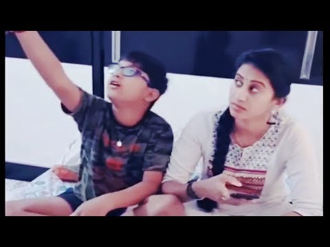 Full Download] Meena Vasu Cute Dusbmash With Her Son Suryavamsham