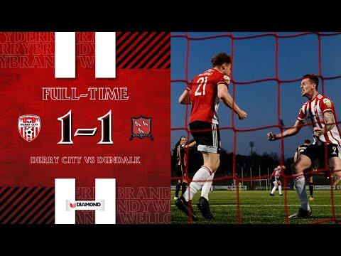 Derry City Dundalk FC Goals And Highlights