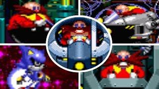 Sonic CD - All Bosses + Cutscenes (No Damage)