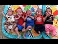 Quintuplets at home: Parents' suddenly surreal life with 7 kids