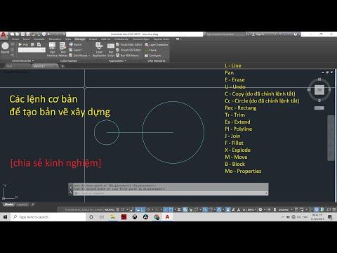 #2 Hướng dẫn các lệnh cơ bản để tạo bản vẽ trong Cad [chia sẻ kiến thức]