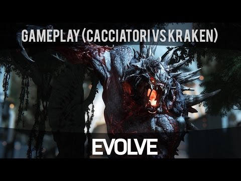 Evolve - Modalità Nest (Cacciatori vs Kraken) - Gameplay ITA HD