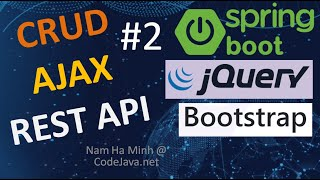 CRUD AJAX REST API Call Examples - Part 2: Manage One to Many Relationship