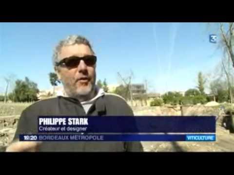 Philippe Starck a dévoilé le nouveau chai des Carmes Haut-Brion