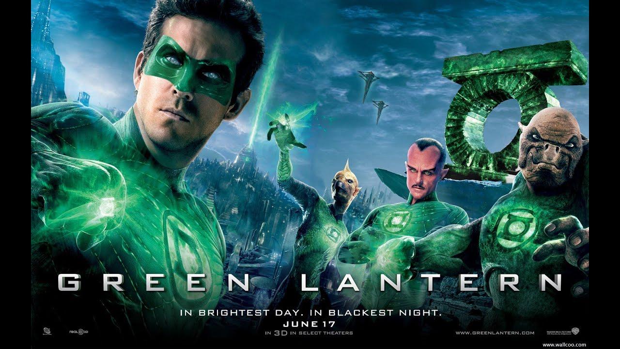 GREEN LANTERN 2011 Ryan Reynolds Superhero Movie Review