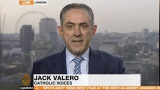 Jack Valero on Cardinal Pell reporting to the Australian abuse enquiry