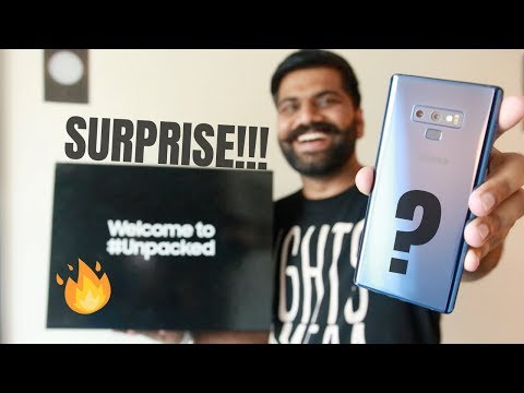 Samsung Galaxy Note 9 Unboxing & First Look - The Beast!!! 🔥🔥🔥