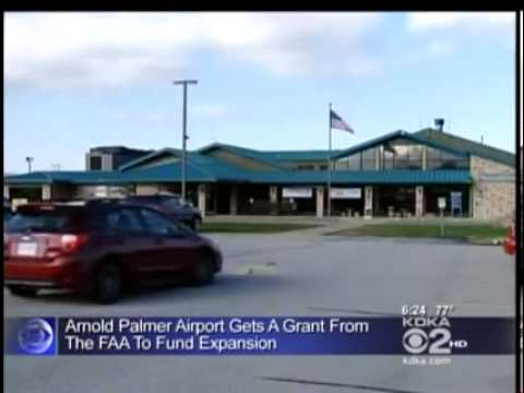Murphy Secures Upgrade Funds For Arnold Palmer Airport YouTube - Where is latrobe