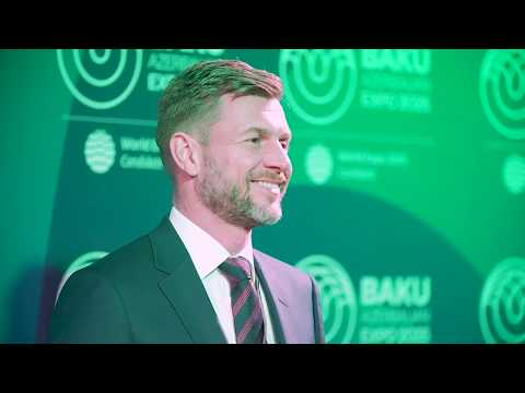 Highlights from Expo 2025 Baku Azerbaijan event in Davos