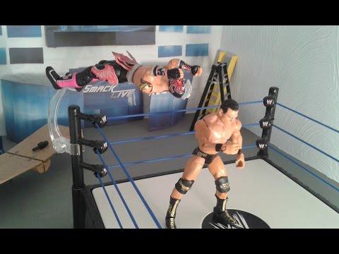 Smackdown Live Stop Motion : United States Championship Match - Alberto Del Rio vs Kalisto