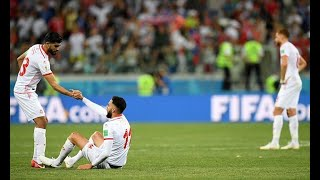 Tunisia the latest to fall as African sides struggle at World Cup