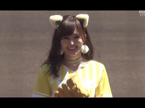 【永久保存版】NMB48山本彩の始球式のユニフォームがかわいい❤❤❤