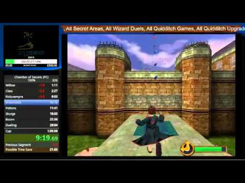 Harry Potter 2 PC 100% in 1:33:31 In Game Time