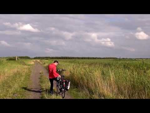 Lauwersmeer : cycling from Zoutkamp to Lauwersoog