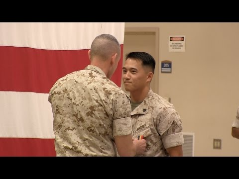 Fort Report Marine Earns Heroism Medal