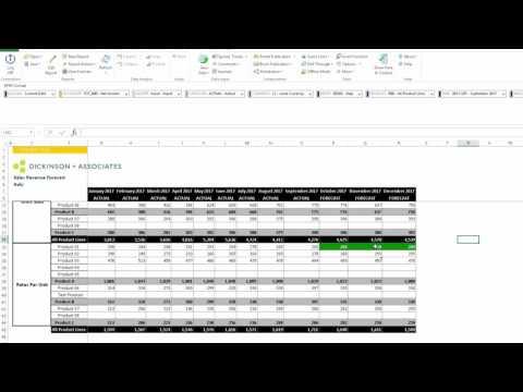 DEMO: BPC Forecast Adjustment