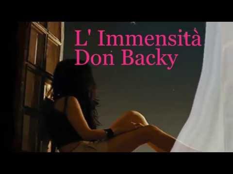 DON BACKY : L' IMMENSITA'   con testo.