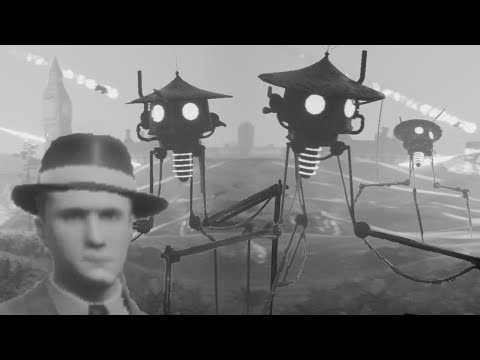 The War Of The Worlds 1913 Game Is A Nice Adaption Of The War Of The Worlds